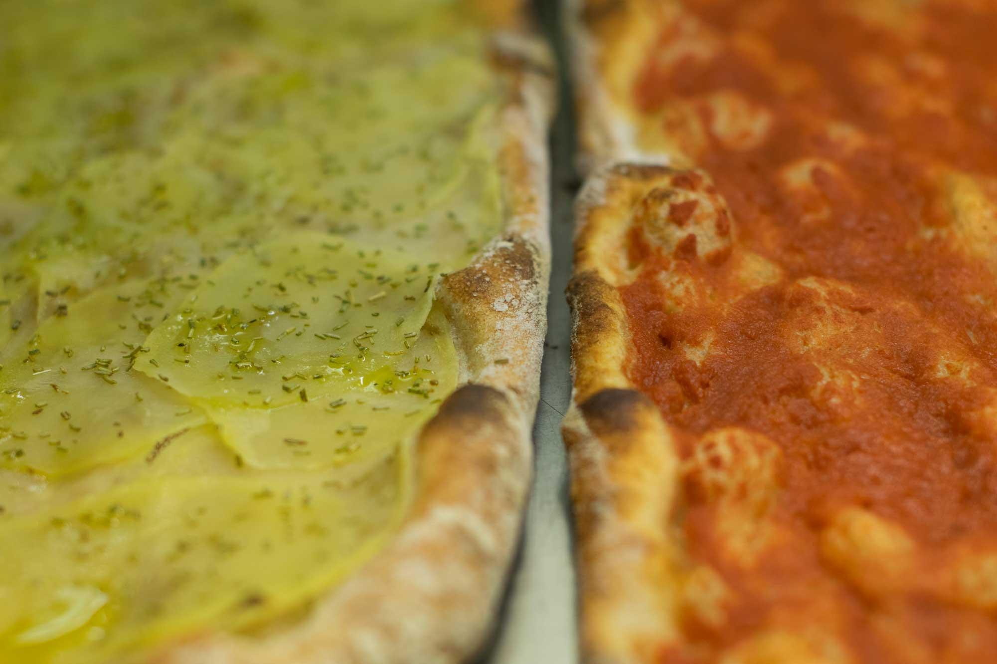 Pizza bianca e rossa - S.Bio.Q.R. - L'Impero del Grano